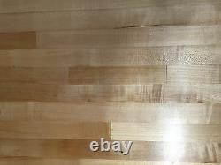 24-1/2 x 23-1/4 x 1-1/2 Maple Wood Butcher Block Counter top // Cutting Board