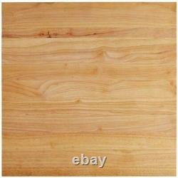 24 x 24 x 1 3/4 in. Wood Commercial Restaurant Solid Cutting Board Butcher Block