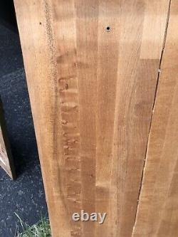 24x21 Wood Butcher Block Counter top Cutting Board Large & Heavy