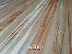 25 x 30 x 2 Maple Wood Butcher Block Counter Top Cutting Board Handmade