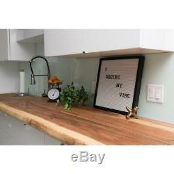 4 ft. L x 2 ft. 1 in. D x 1.5 in. T Butcher Block Countertop in Oiled Acacia wi