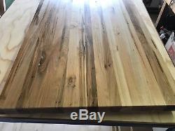 60 x 24 x ambrosia Maple Wood Butcher Block Counter top cutting board