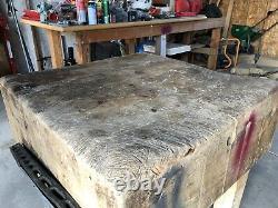 Antique Boos Butcher Block