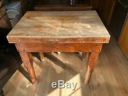 Antique Butcher Block / Cutting Board