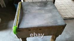 Antique Butcher Block Solid Wood 30 X 30 Restaurant Bakersfield California