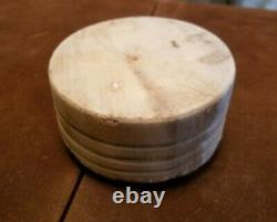 Antique Primitive Tuk-Away Bread Salesman Sample Wood Butcher Block Brenham TX
