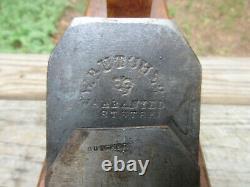 Antique Vintage W. Butcher C. G. Pease 26 Wood Shipwright's Jointer Block Plane
