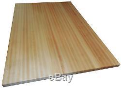 Armani Fine Woodworking Hard Rock Maple Butcher Block Countertop