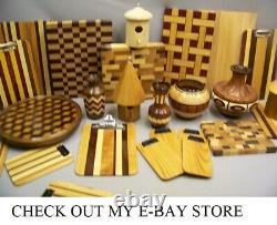 Beautiful Extra Large Solid Hard Maple End Grain Cutting Board, Butcher Block