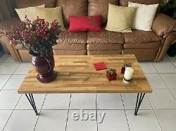 Butcher Block Coffee Table