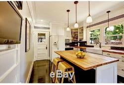 Butcher Block Countertop 2 ft. L x 2 ft. 1 in. D x 1.5 in. T in Finished Maple