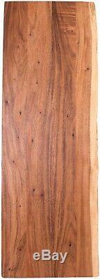 Butcher Block Countertop 25 In. D x 72 In. L x 1.5 In. T Solid-Wood Acacia