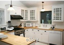 Butcher Block Countertop 5 ft. L x 2 ft. 1 in. D x 1.5 in. T in Finished Maple