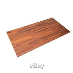 Butcher Block Countertop Kitchen Counter Wood Unfinished Sapele 74X39x1.5 In