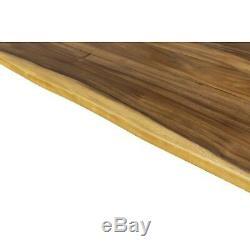 Butcher Block Countertop Oiled Acacia rainfall Edge High Quality surface