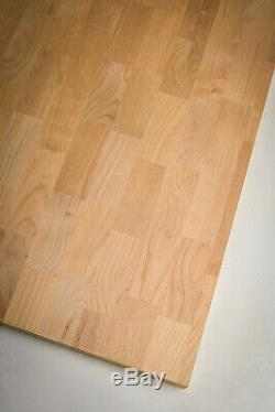 Butcher Block Style Solid Wood Counter Tops American Alder Multiple Sizes