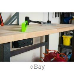 Butcher Block Workbench Top 1.50in x 5ft x 2ft 6in UV Finished Birch Hardwood