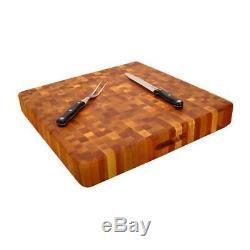 Cutting Board Extra Large 20 X 20 Butcher Block End Grain Birch Slab Kitchen