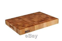 Cutting Boards John Boos Maple Wood End Grain Reversible Butcher Block Board
