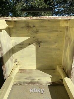 Distressed Wooden Butcher Block/Kitchen Island