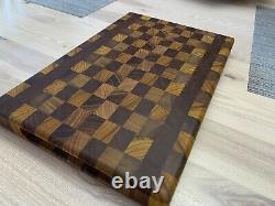 End Grain/Exotic Wood Butcher Block Cutting Board-professional Quality