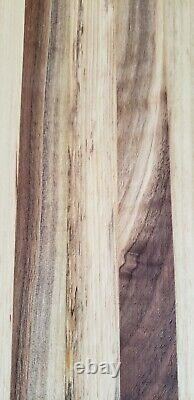 Extra Large Edge Grain Hickory Wood Chef Cutting Charcuterie Board Butcher Block