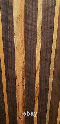 Extra Large Edge Grain Wood Cutting Charcuterie Board Butcher Block 21 X 11 X1.5