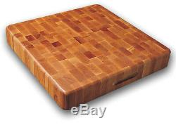 Extra Large Grain Wood Cutting Board Finger Grooves Butcher Block Cutting Board