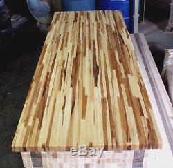 Forever Joint Hickory Butcher Block Top 1-1/2x26x72 Kitchen Cutting Board