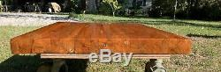 Handmade Cherry Wood Butcher Block Style Coffee Table Top