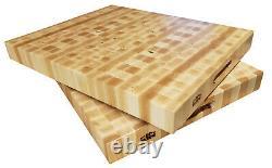 Handmade Hard Maple Butcher Block Cutting Board end grain
