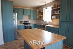 Hard Maple Butcher Block Kitchen Countertop Wooden Top (1.5 x 26 x 72)