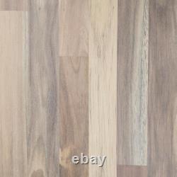Interbuild Acacia Butcher Block Countertop 96 in. X 4 in. VOC-Free Solid Wood