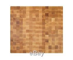 John Boos BBIT30253 End Grain Butcher Block Island Top 30 x 25 x 3 Maple Wood