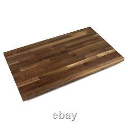 John Boos Blended Walnut Wood Cutting Board Island Top Butcher Block (Open Box)