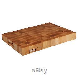 John Boos Block CCB2015-225 20 x 15 End Grain Wood Reversible Chopping Block