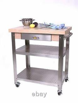 John Boos Cucina Elegante Kitchen Cart