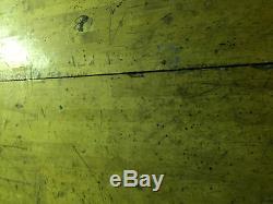 LARGE WOOD BUTCHERBLOCK BUTCHER BLOCK 64 x 54 x 2 1/2 VINTAGE H