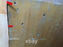 LARGE WOOD BUTCHERBLOCK BUTCHER BLOCK VINTAGE 6' x 2' x 2 1/4 D