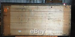 LARGE WOOD BUTCHERBLOCK BUTCHER BLOCK VINTAGE 8' x 45' x 2 1/2 B401