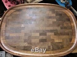 Large Dansk Jens Quistgaard Tray / Cutting Board Butcher Block Wood 21.75