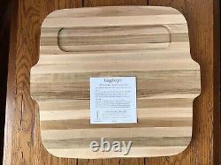 Longaberger Very Rare Gourmet Basket Set WithButcher Block LidBNIB