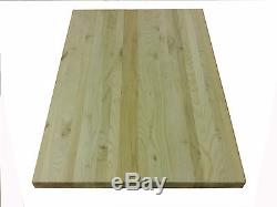 Maple Butcher Block, 24 x 38, Huge Cutting Board, or Counter Top Solid wood