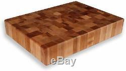 Maple End Grain Chopping Block 20 x 15 x 3 1/2 (HM)