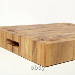 NEW Wild Wood Murray Butcher's Block Board Extra Large 40x50cm