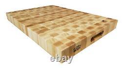 New Handmake Hard Maple Butcher Block Cutting Board end grain