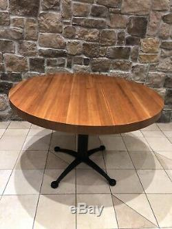Restaurant Butcher Block Tables 2.5 Thick! 48 Round