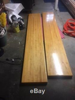 Solid Maple Butcher Block Table Used Condition 16x8' & Other