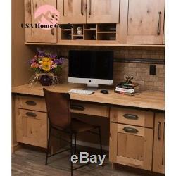 Solid Wood Butcher Block Countertop (4 ft. 2 L x 2 ft. 1 D x 1.5 T) Hardwood