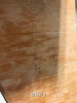 Solid Wood Kitchen Butcher Block with Wheels Kitchen Island 42 x 18 x 30.5Tall